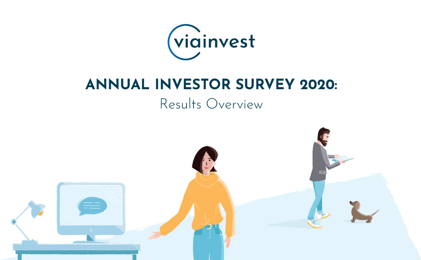 VIAINVEST Investor Survey 2020 results are out!